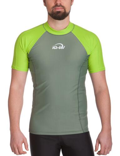 645130 IQ UV 300 Shirt Slim Fit Herren UV Shirt Strand /& Meer NEU !!!