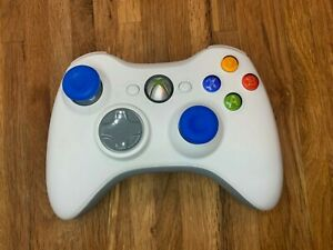 GENUINE-Microsoft-Xbox-360-Wireless-Controller-White-TESTED