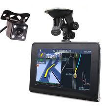 7 inch Car GPS Navigator Quad Core Android Tablet DVR Record Reverse Camera 16GB