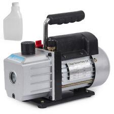 Single Stage 4CFM 1/3HP Rotary Vane Deep Vacuum Pump HVAC AC Air tool R134 R410a