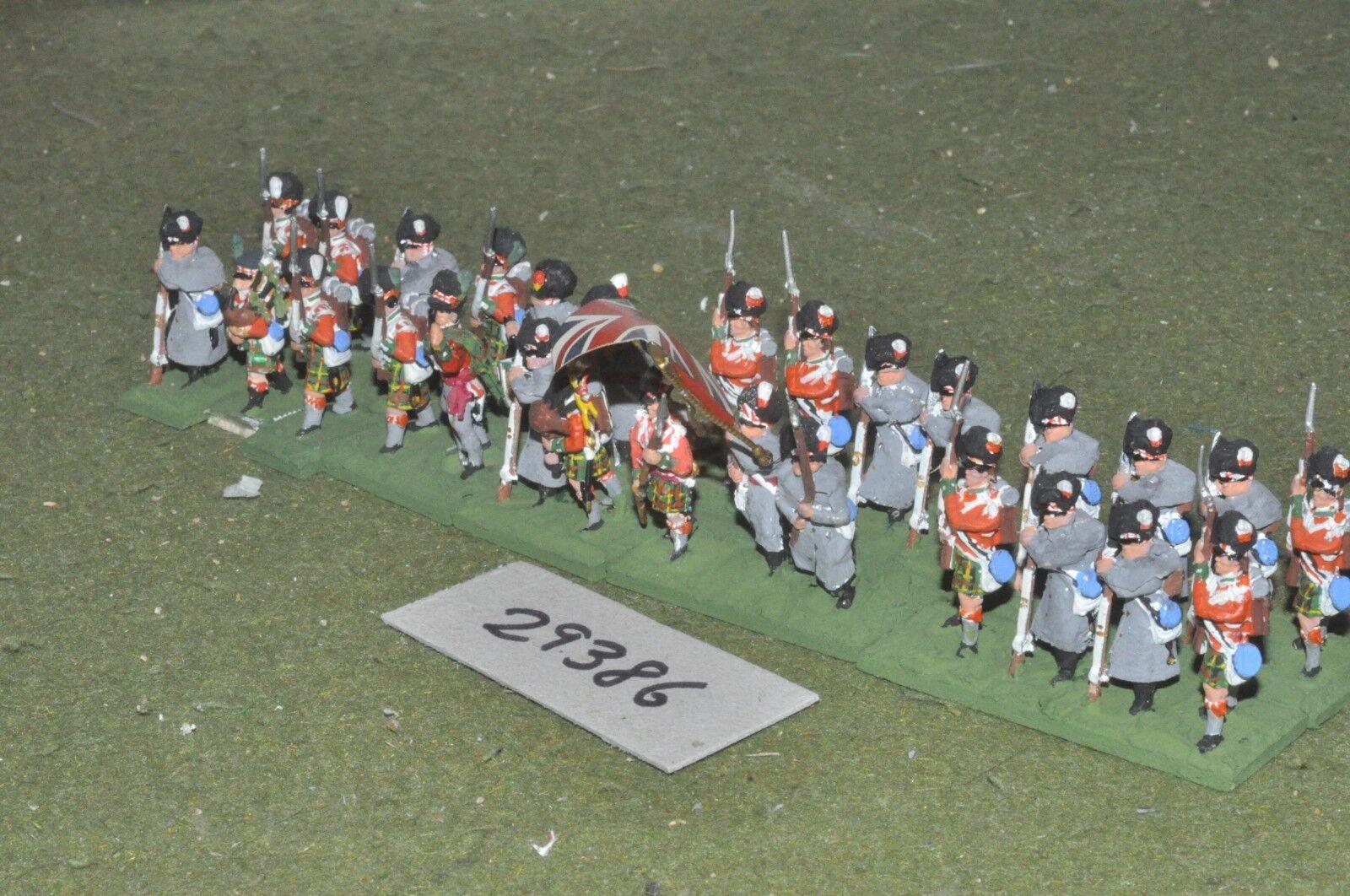 25mm napoleonischen   british - hochlandrinder 28 zahlen - inf (29386)