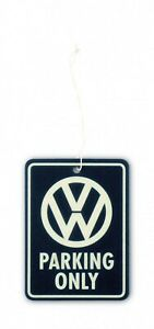 Desodorisant-Parfum-Voiture-Volkswagen-Parking-Only-Sous-License-Officielle