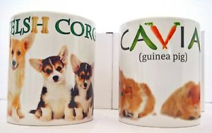 CORGIS AND CAVIA MUGS GIFT Women's Day FATHER BROTHER SISTER VALENTINE DAY