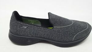 New-Womens-Skechers-GoWalk-4-Super-Sock-4-Shoe-Style-14161-Black-91B-prm