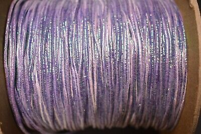 """2 Yd 1//16/"""" Multi Colored ficelage avec Mylar fly tying /& Minnow corps environ 1.83 m Lot 4"""
