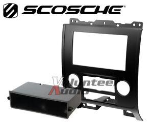 Car Radio Stereo CD Player Dash Install Mounting Trim Bezel Panel Kit Mount