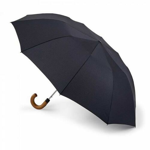 Fulton Dalston-2 Mens Wide Canopy Auto Compact Umbrella
