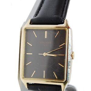 Raro Orient Vx Relógio Masculino, Quartz, 28mm, Quadrado, Ref.D35813 ... 24222f59be