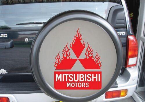 MITSUBISHI MOTORS FLAMING 4x4 semi rigid spare wheel cover shogun pajero Pinin