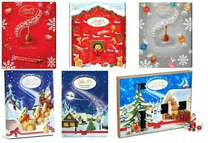 Details About Lindt Advent Calendar Milk White Chocolate Countdown To Christmas Lindt Lindor