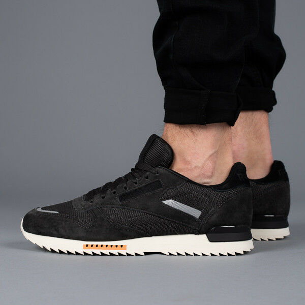 MEN'S SHOES SNEAKERS REEBOK CL LEATHER RIPPLE [BS9795]