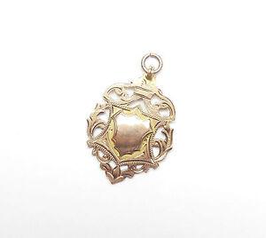 Antique birmingham 1920 hallmarked 9ct rose gold albert for Sell jewelry birmingham al