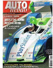 A26- Auto Hebdo N°1491 LMES-Spa Jeux de Roles,Liuzzi Galli et Fondmental
