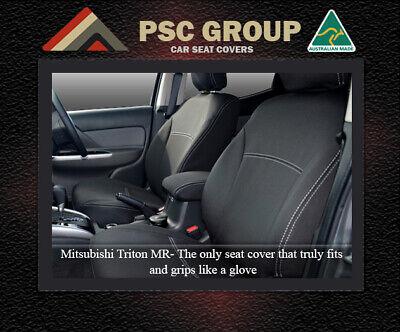Seat Cover Mitsubishi Triton Front+CONSOLE 100/% Waterproof Premium Neoprene