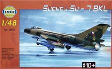 Sukhoi Su-7 Bkl ajustador de un (polaco, checoslovaco y Soviética mkgs) 1/48 Smer limi.edit