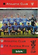 PROGRAMM PROGRAMMHEFTE ATHLETIC BILBAO-AUSTRIA VIENA WIEN 04-05 UEFA CUP