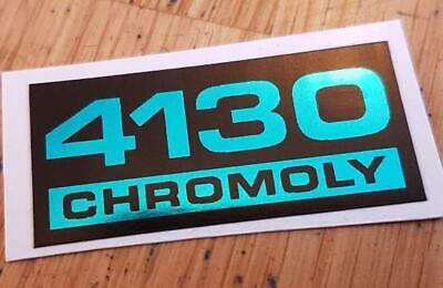 Nos BMX HARO 4130 CRO MOLY freestyler 1984 1985 Decal Sticker handle Frame