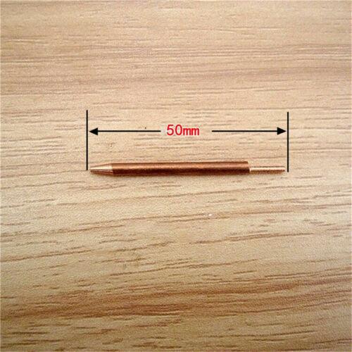 5PCS 3x50mm//3x100mm Welder Spot Welding Pin Alumina Copper Welding Feet Needle