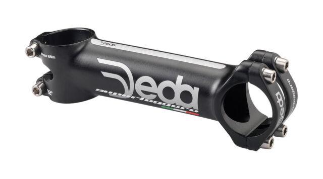 New Deda Elementi Zero 2 Road Bike Stem Black Dark Grey Zero2 100mm 31.7 31.8
