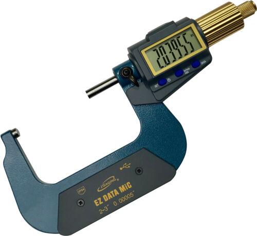 "iGAGING IP54 EZ Data Micrometer 2-3/"""