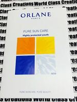 Orlane- Pure Sun Care - Anti Aging Sun Cream Face & Body Spf30 - 3 Sample Pouch