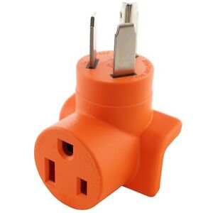 Details About 30 Amp Nema 10 30p To Nema 6 50r Welder Plug Adapter By Ac Works