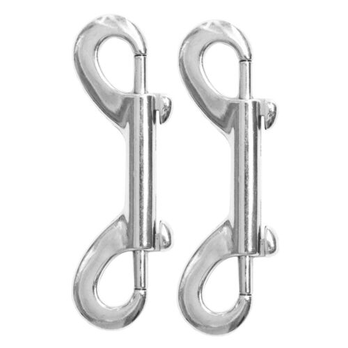 10 Pieces Heavy Duty Carabiner Double Ended Snap Hooks Trigger Clips Bolts