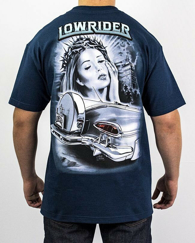 Lowrider Clothing Crown Of Thorns T Shirt Old School Street Hustler Authetic New
