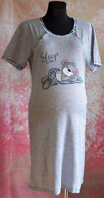 Sleepwear Maternity Nightdress Nightwear Labour Two Sides Buttons Short Sleeve M109 High Safety