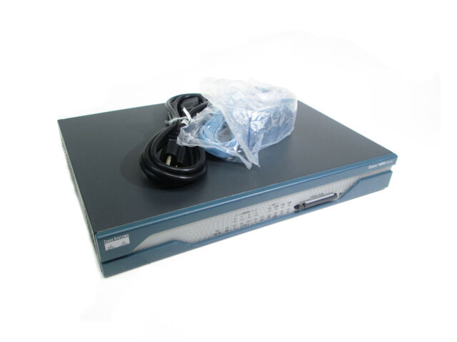 CISCO1811/K9  INTEGRATED SERVICES ROUTER 128 DRAM 32mb FLASH - LATEST FIRMWARE