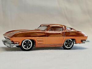 Aurora Cigar Box Diecast Stingray Copper Metallic Chromed Car Vintage 60 S Ebay