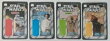Lot Of 4 Star Wars Celebration Exclusive Vintage Cardbacks Gentle Giant Promo