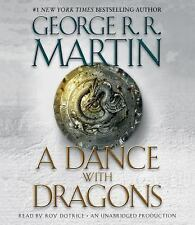 A Song of Ice and Fire: A DANCE WITH DRAGONS, George R. R. Martin CD, NEW