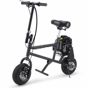 SAY-YEAH-Mini-Gas-Power-49cc-2-Stroke-Pit-Bike-Scooter-Motorbike-Black