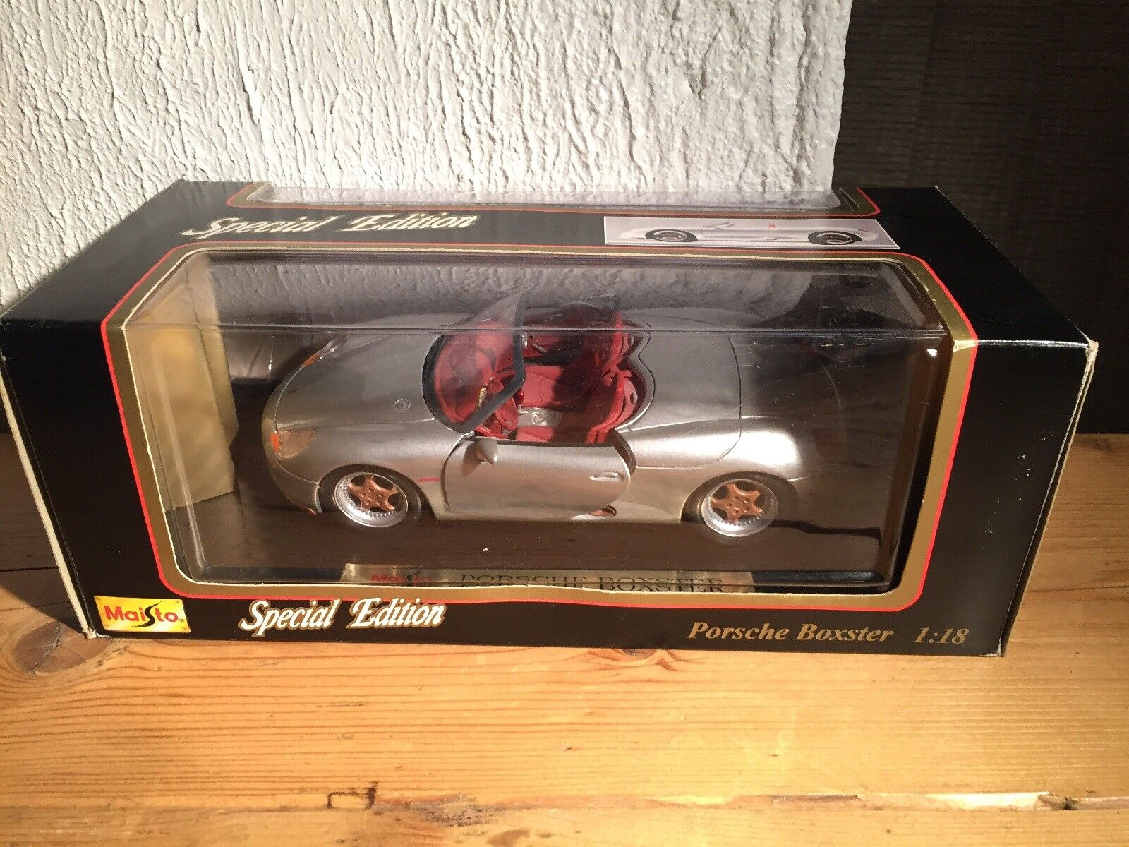 Maisto Porsche Boxter 1 18 Special Edition Die Cast New Boxed