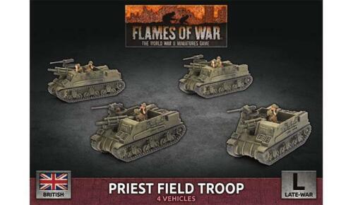PRIEST FIELD TROOP BBX64 SHIPPING NOW FLAMES OF WAR