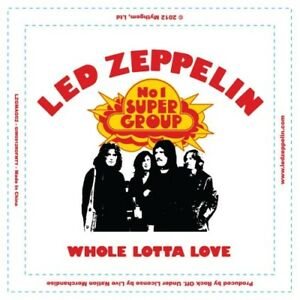 LED Zeppelin 1969 LP Coque Aimant Frigo Aimant Frigo