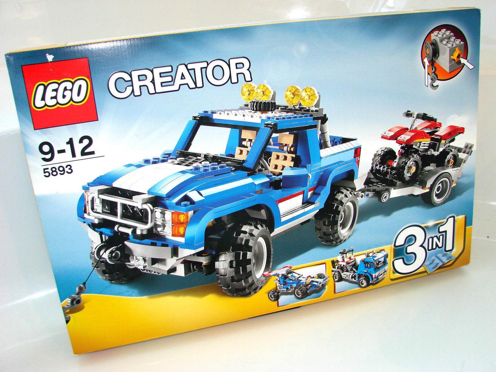 LEGO ® Creator 5893 Véhicule Tout-Terrain Avec Quad Neuf neuf dans sa boîte _ terrain Power NEW En parfait état, dans sa boîte scellée Boîte d'origine jamais ouverte