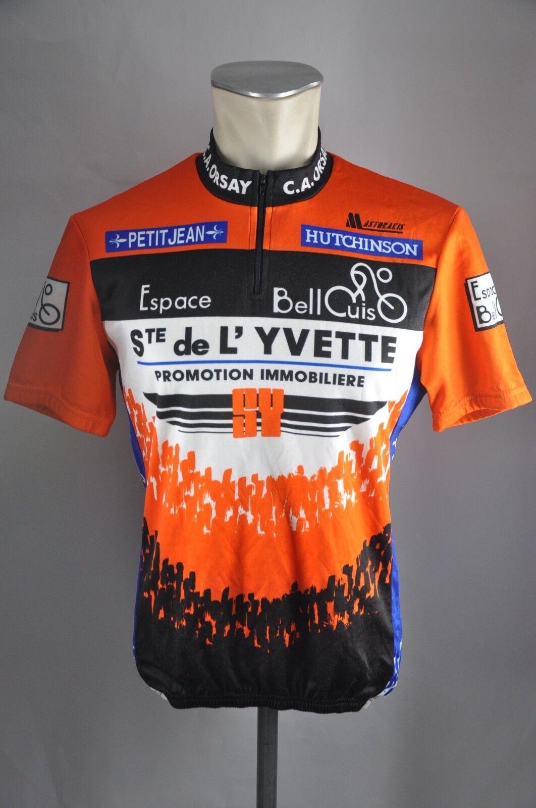 C.A. Orsay Bell Cuis vintage jersey bike Gr. 5 BW 53cm cycling Rad Trikot KE2