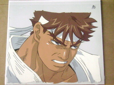 Street Fighter Alpha Zero Ryu Anime Production Cel Ebay
