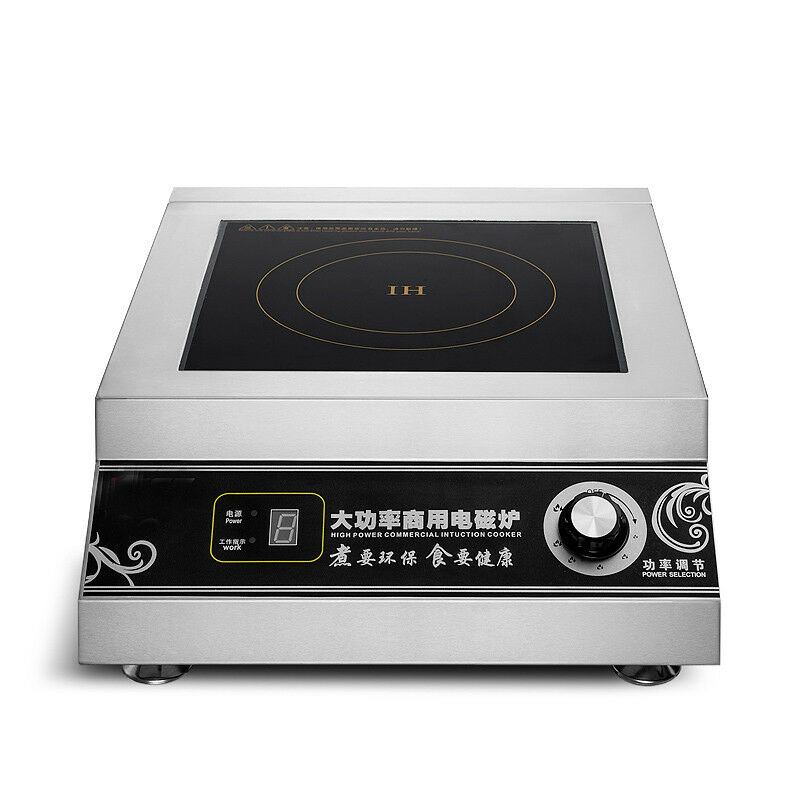 220V 5000W Commercial Flat Surface Induction Cooker High Power Electric Cooker