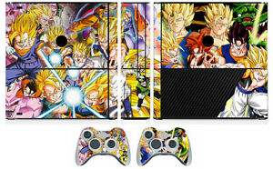 Faceplates, Decals & Stickers Dragon Ball 015 Vinyl Decal Skin Sticker For Xbox360 Slim And 2 Controller Skins