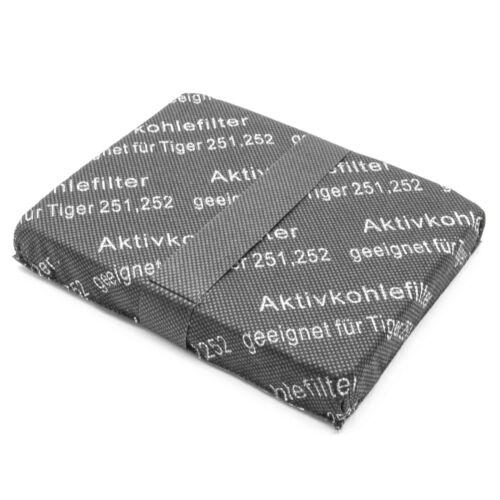 251 252 260 Aktivkohle-Filter für Vorwerk Tiger 250