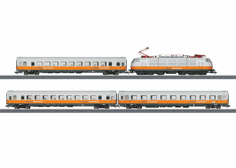 en promociones de estadios Trix Trix Trix H0 Set Treni 21680 Lufthansa Aeroporto Express BR103 Mit 16 Funzioni  A la venta con descuento del 70%.