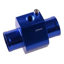 26mm Water Temp Temperature Joint Pipe Sensor Gauge Radiator Hose Adapter Acc