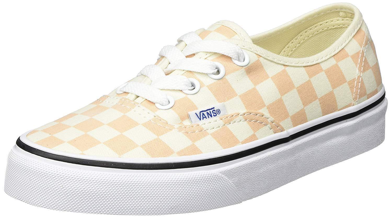 Vans Authentic Checkerboard Apricot Ice Ice Ice Uomo Skate scarpe Dimensione 10.5 95f5ba