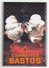 Bastos Cigarrettes FRIDGE MAGNET (2 x 3 inches) poster advertisement tobacco