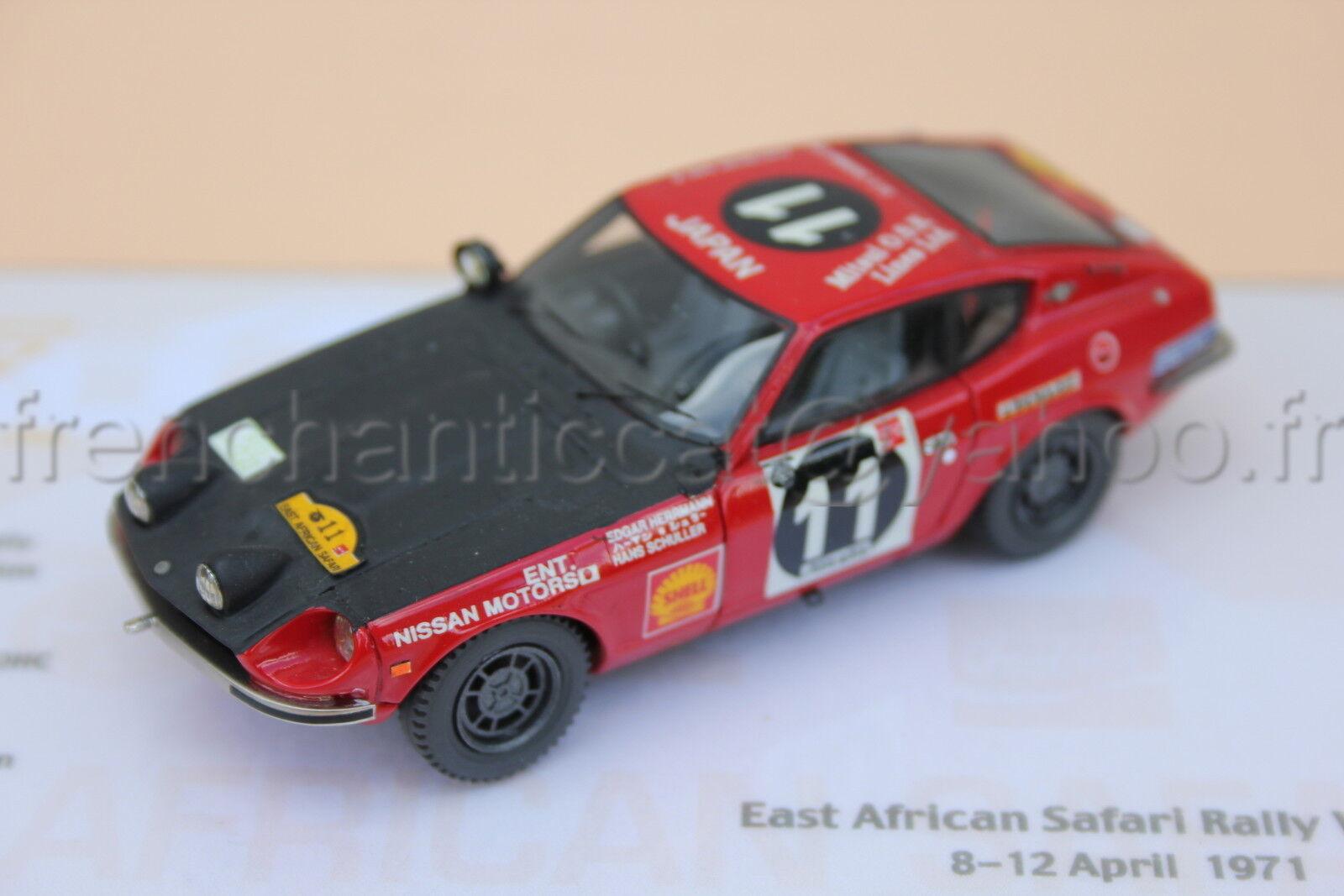 C067 Car Datsun 240 Z Safari 1971 1 43 Heco Miniaturen Provence Moulage