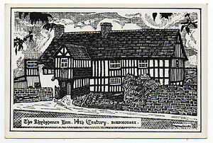 HEREFORDSHIRE  The Rhydespence Inn Art Signed Morton Danby c1970 Unused - <span itemprop=availableAtOrFrom>WIGAN, Greater Manchester, United Kingdom</span> - HEREFORDSHIRE  The Rhydespence Inn Art Signed Morton Danby c1970 Unused - WIGAN, Greater Manchester, United Kingdom