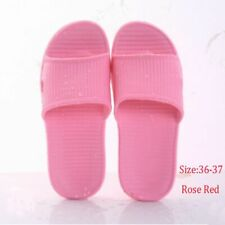 Flat Soft Bathroom Slippers Men/'s Flip-flops Women/'s Sandals Summer Shoes